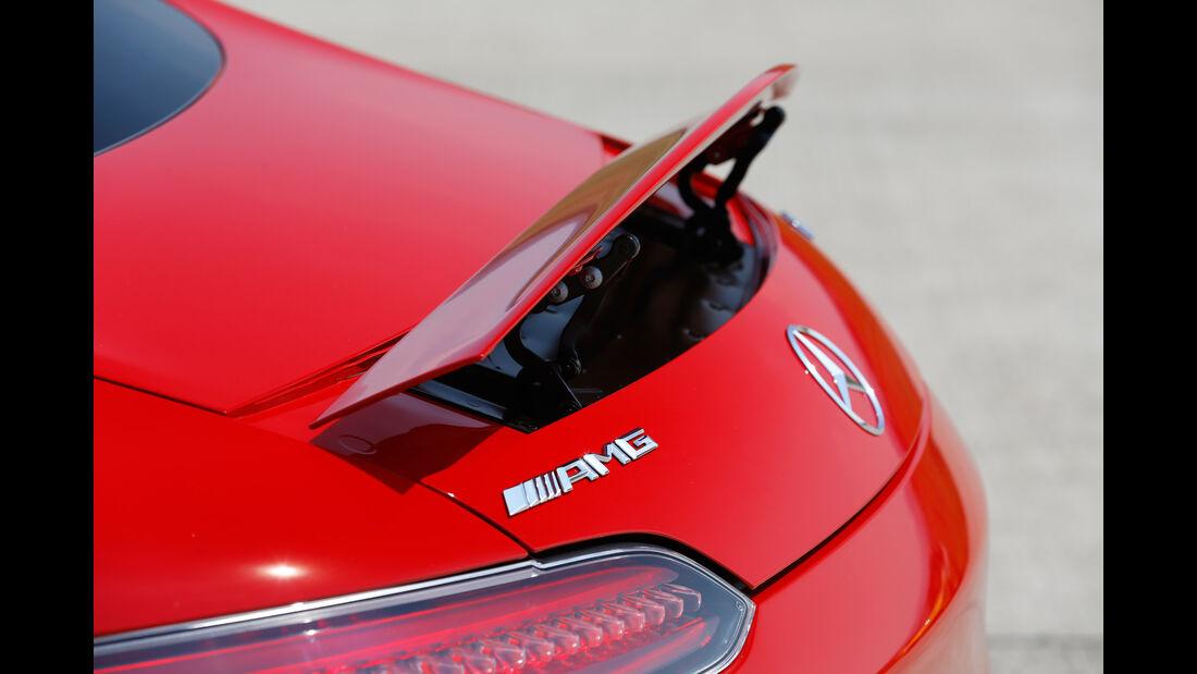 Mercedes-AMG GT, Heckspoiler