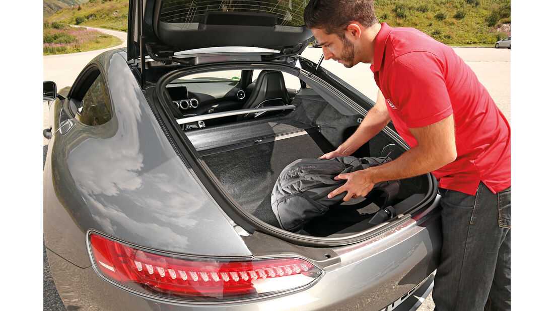 Mercedes-AMG GT, Kofferraum