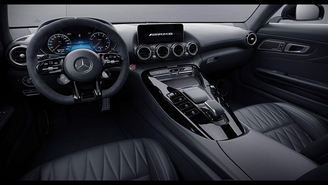 Mercedes-AMG GT Modellpflege 2021