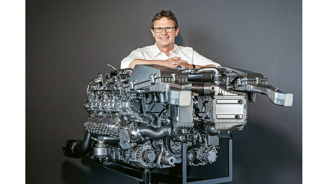 Mercedes-AMG GT, Motor, Christian Enderle