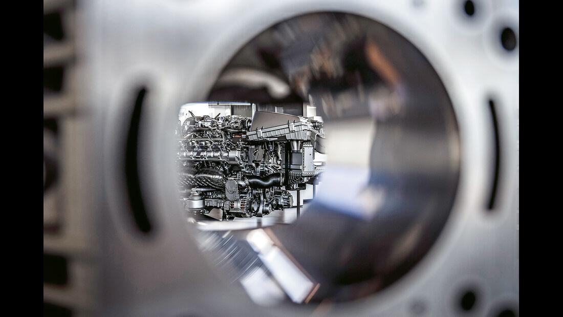 Mercedes-AMG GT, Motor, Zylinder