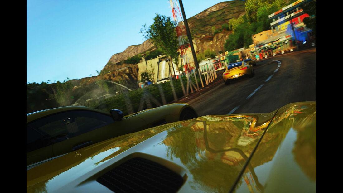Mercedes AMG GT Playstation