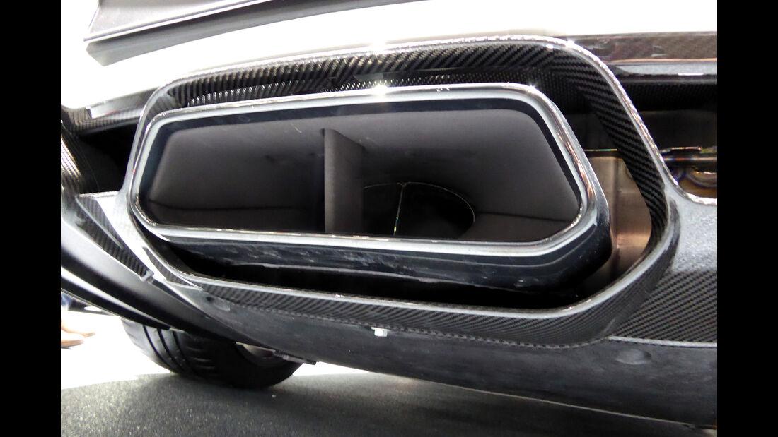 Mercedes AMG GT-R - Auspuff - IAA Frankfurt 2017
