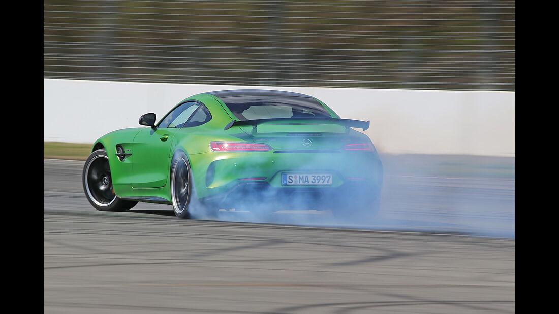 Mercedes-AMG GT R, Burnout
