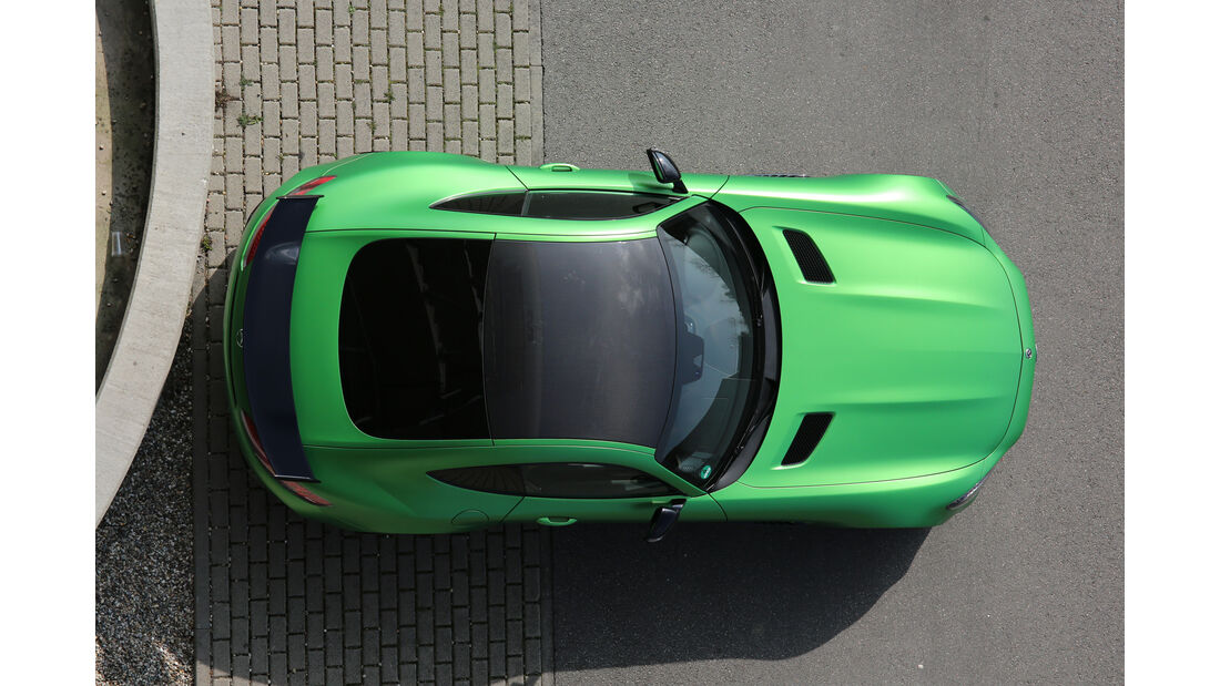 Mercedes-AMG GT R, Draufsicht