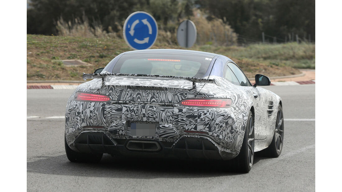 Mercedes-AMG GT R Erlkönig