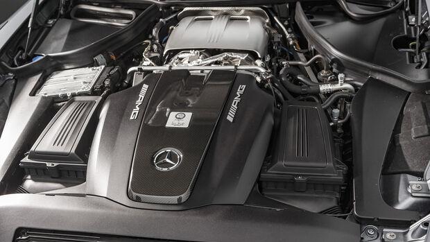 Mercedes-AMG GT R Pro, Motorraum