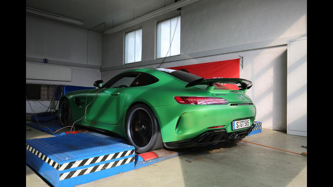 Mercedes-AMG GT R, Prüfstand