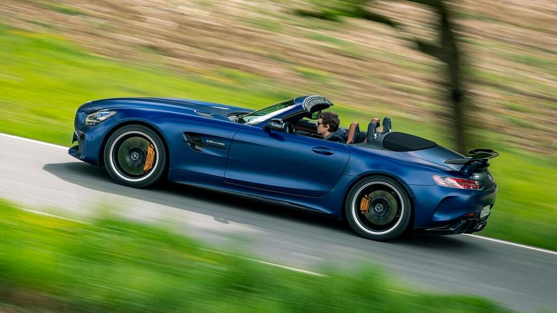 Mercedes-AMG GT R Roadster, Exterieur