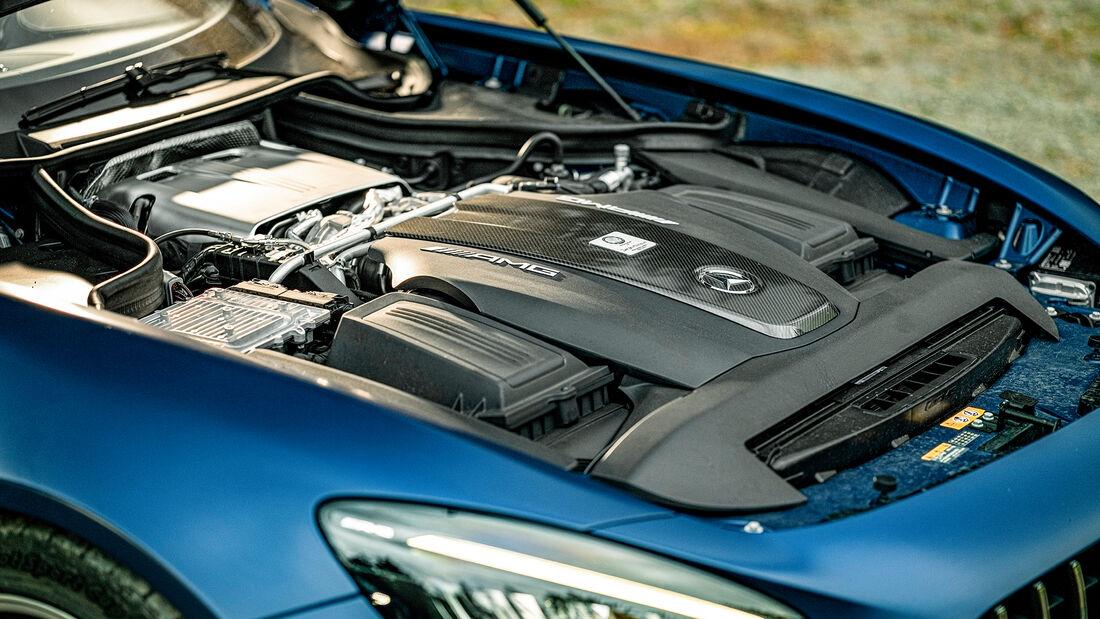 Mercedes-AMG GT R Roadster, Motor