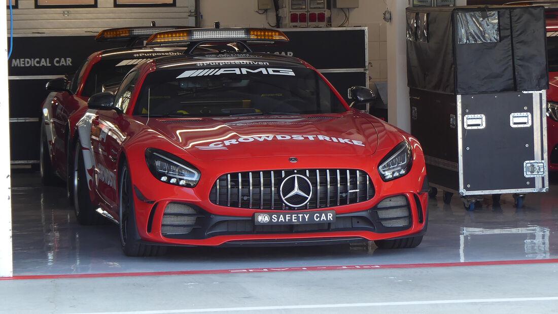 Mercedes AMG GT R - Safety Car - Formel 1 - GP Ungarn - Budapest - Donnerstag - 29. Juli 2021