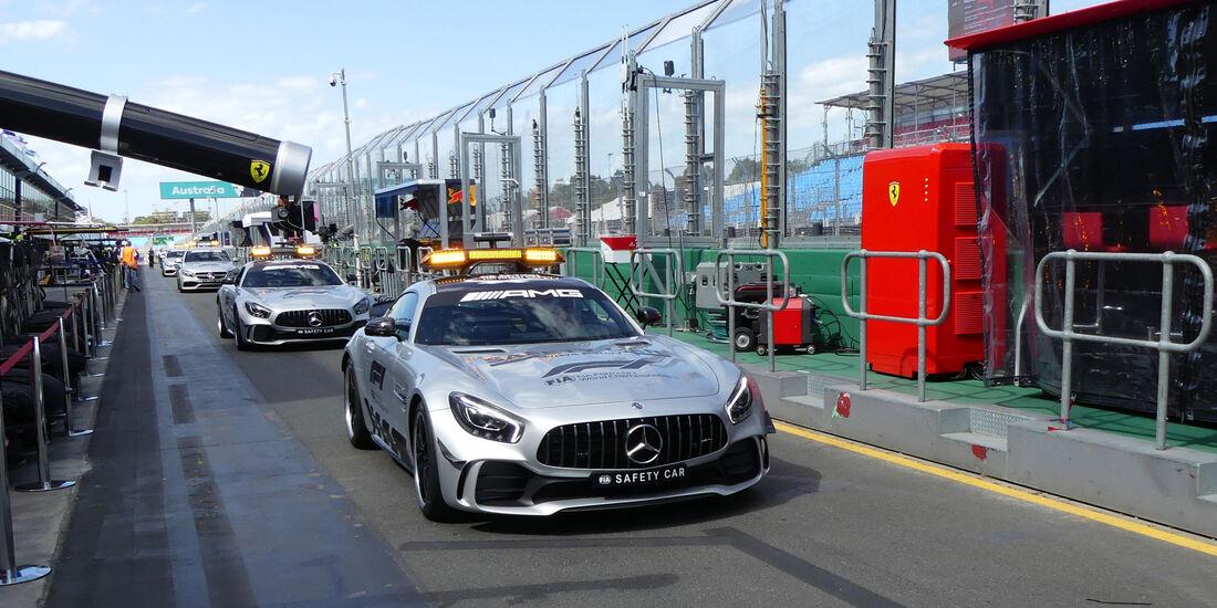 Mercedes-AMG GT R - Safety Car - GP Australien 2018 - Melbourne - Albert Park - Mittwoch - 21.3.2018