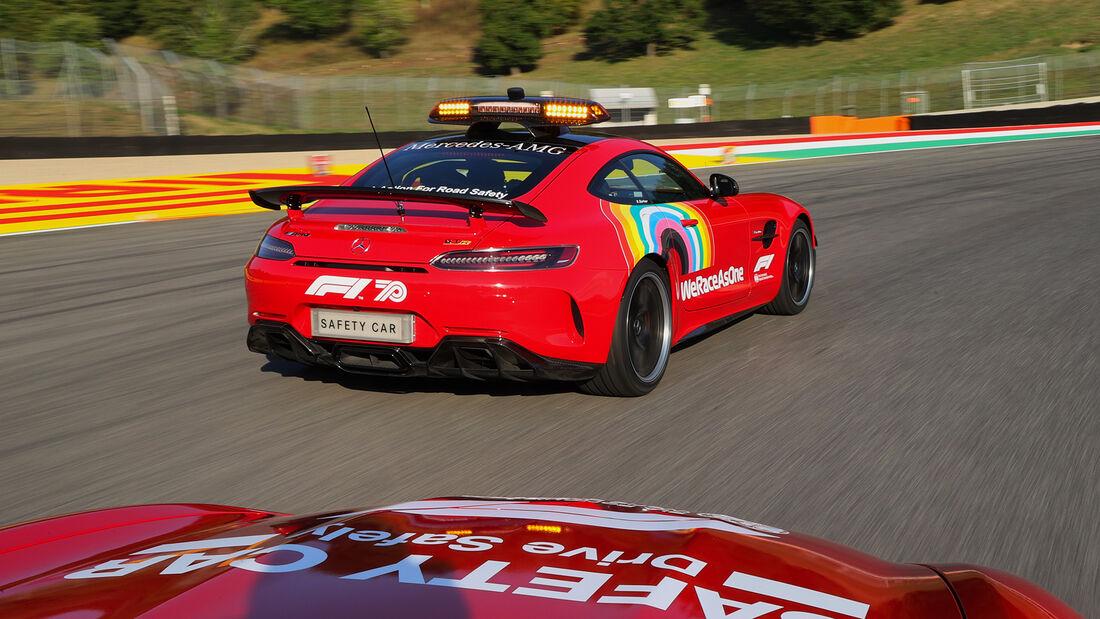 Mercedes AMG GT R - Safety Car - GP Toskana 2020
