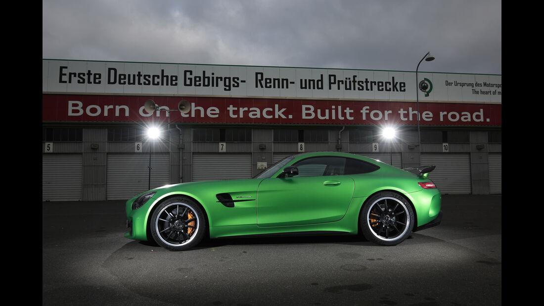 Mercedes-AMG GT R, Seitenansicht