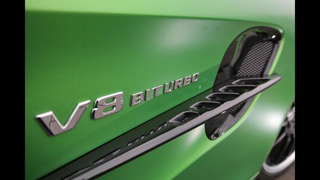 Mercedes-AMG GT R, Seitenführung