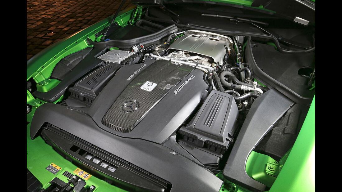 Mercedes-AMG GT R - Sportwagen - Biturbo-V8 - Test
