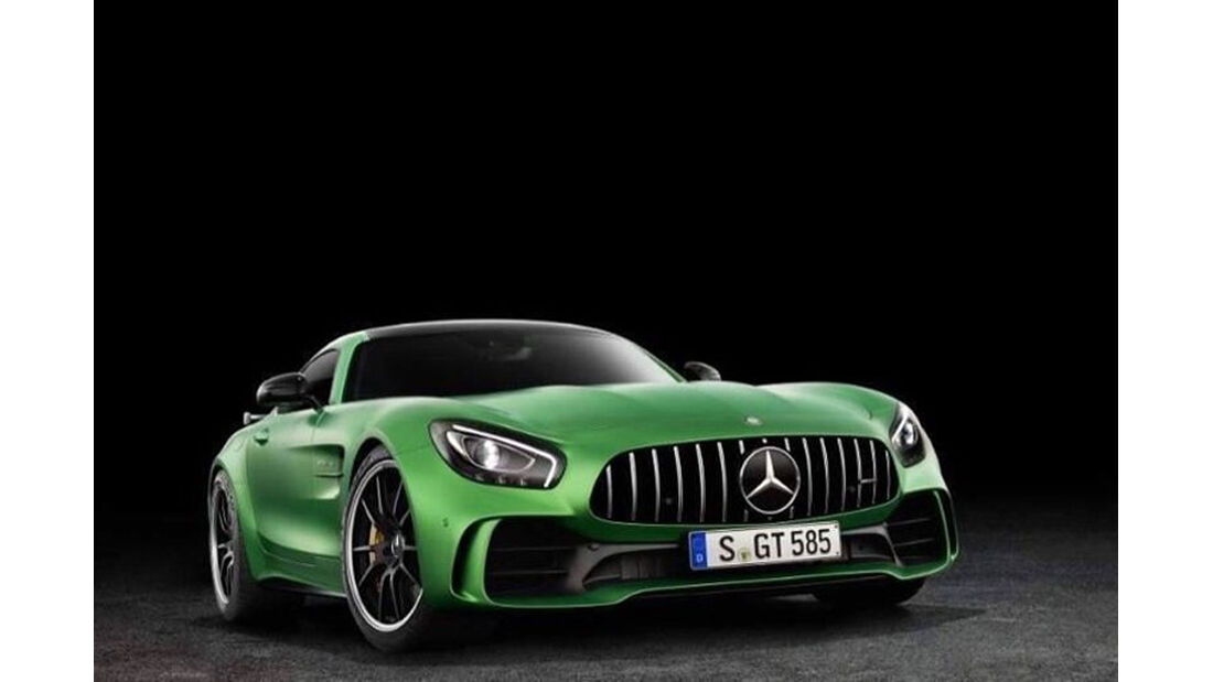 Mercedes-AMG GT R leaked