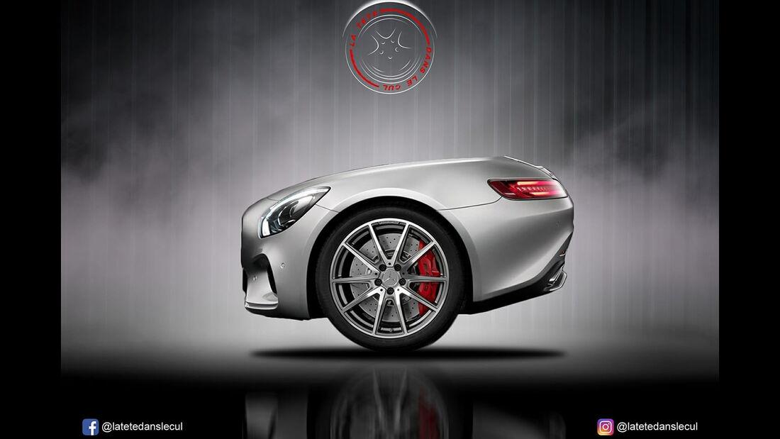 Mercedes-AMG GT Retusche