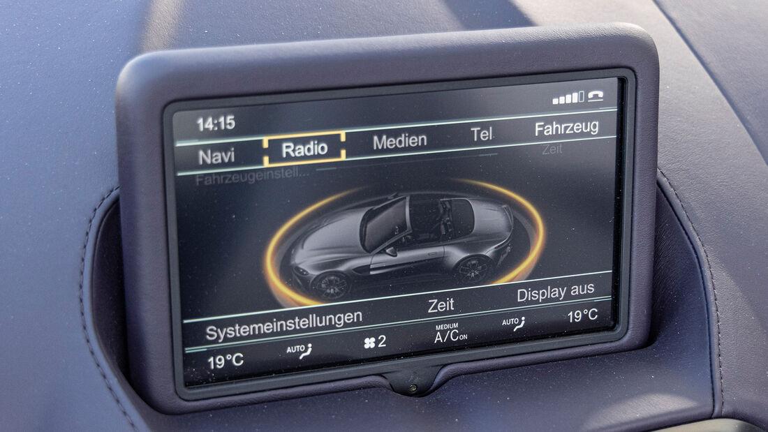 Mercedes-AMG GT Roadster, Interieur