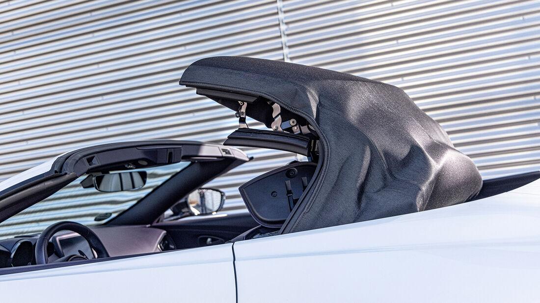 Mercedes-AMG GT Roadster, Verdeck