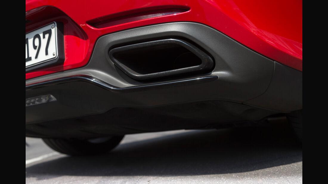 Mercedes-AMG GT S, Auspuff, Endrohr