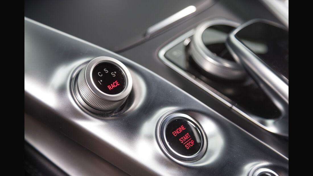 Mercedes-AMG GT S, Bedienelemente