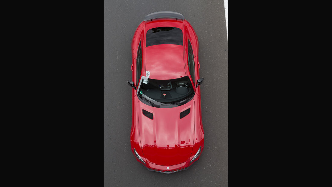 Mercedes-AMG GT S, Draufsicht