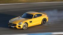 Mercedes-AMG GT S,  Driften
