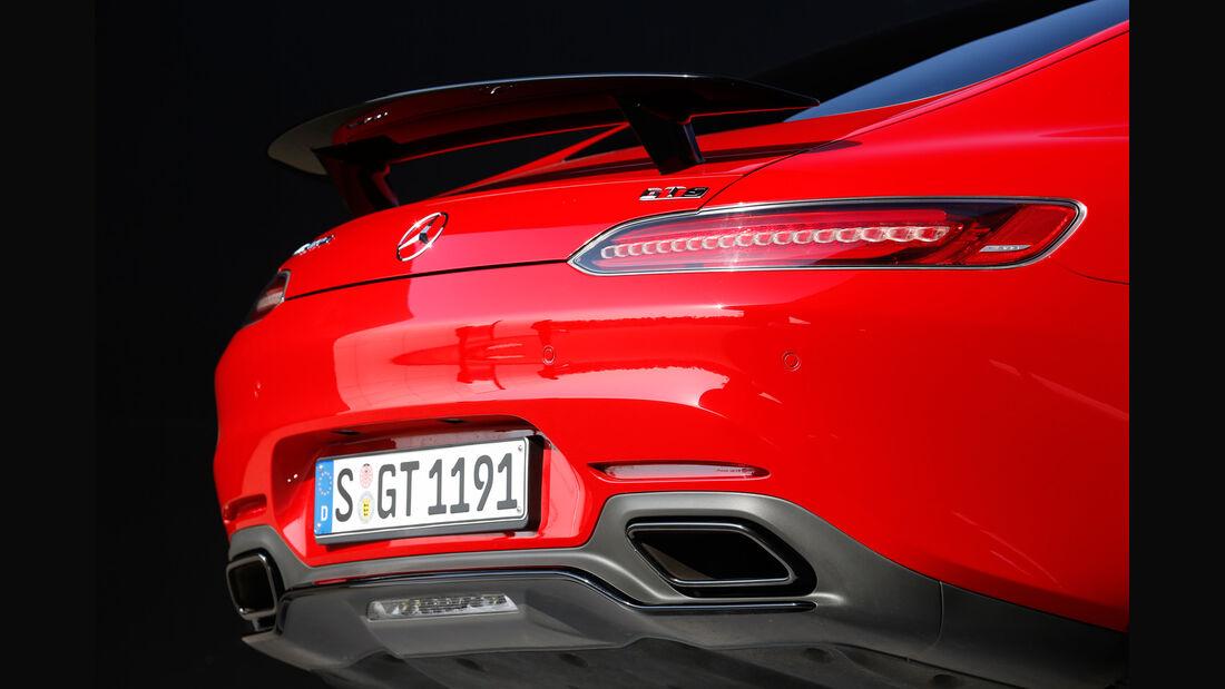 Mercedes-AMG GT S, Endrohre
