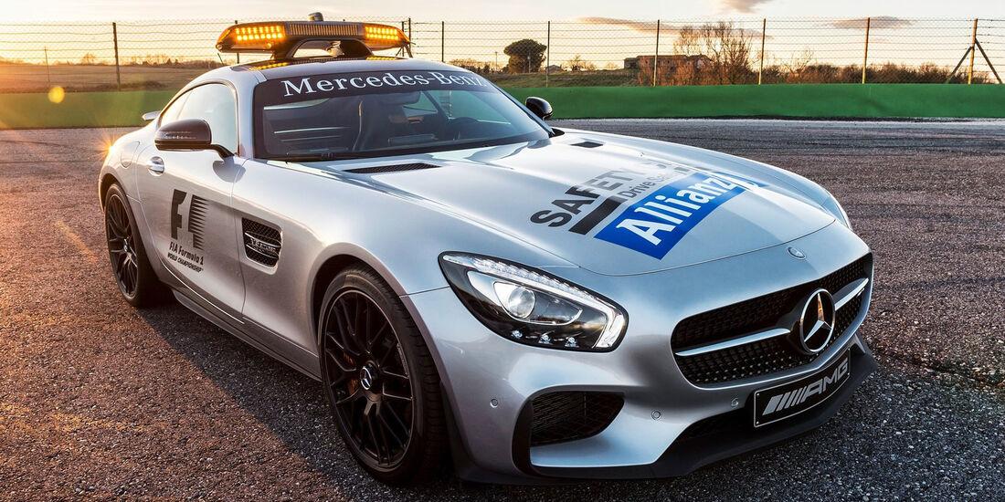 Mercedes AMG GT S - F1 Safety-Car 2015
