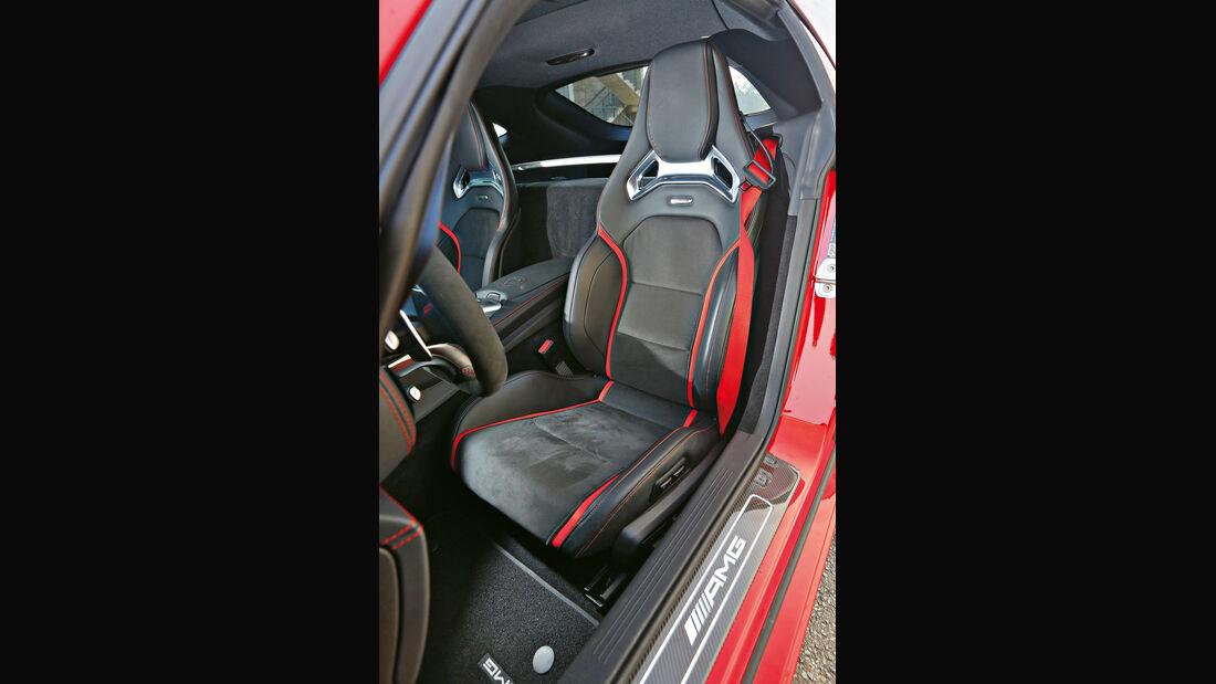 Mercedes-AMG GT S, Fahrersitz