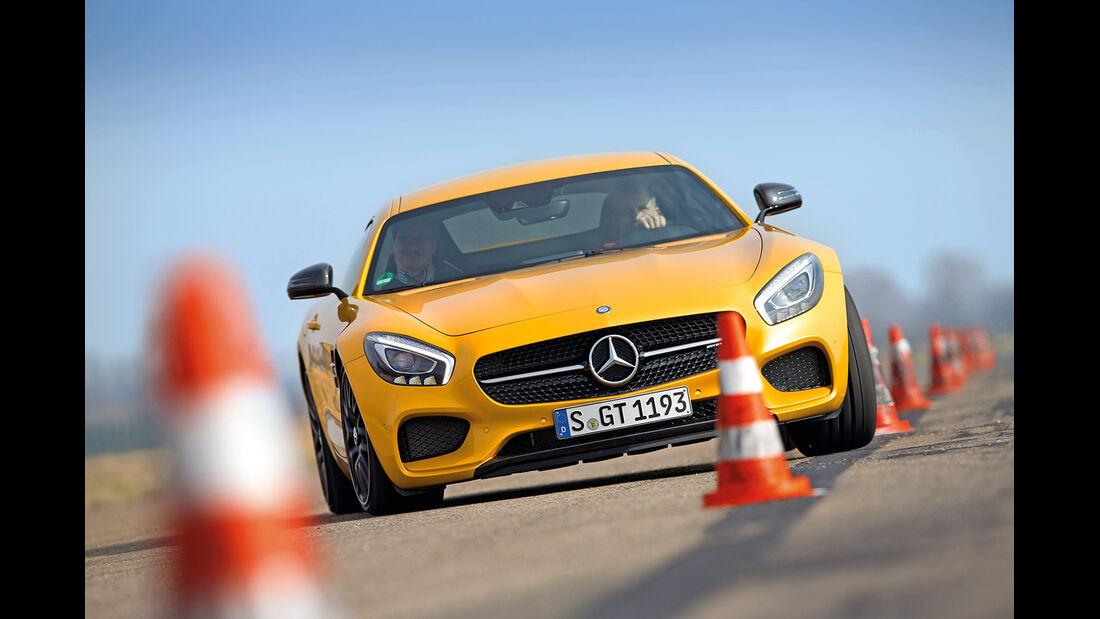 Mercedes-AMG GT S, Frontansicht