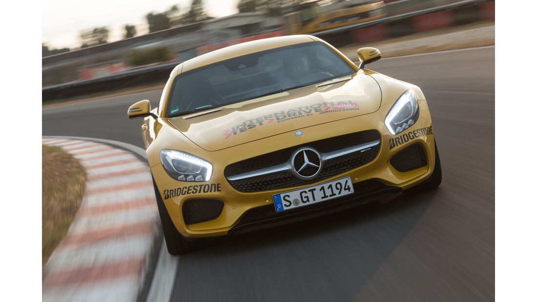 Mercedes AMG GT S, Frontansicht