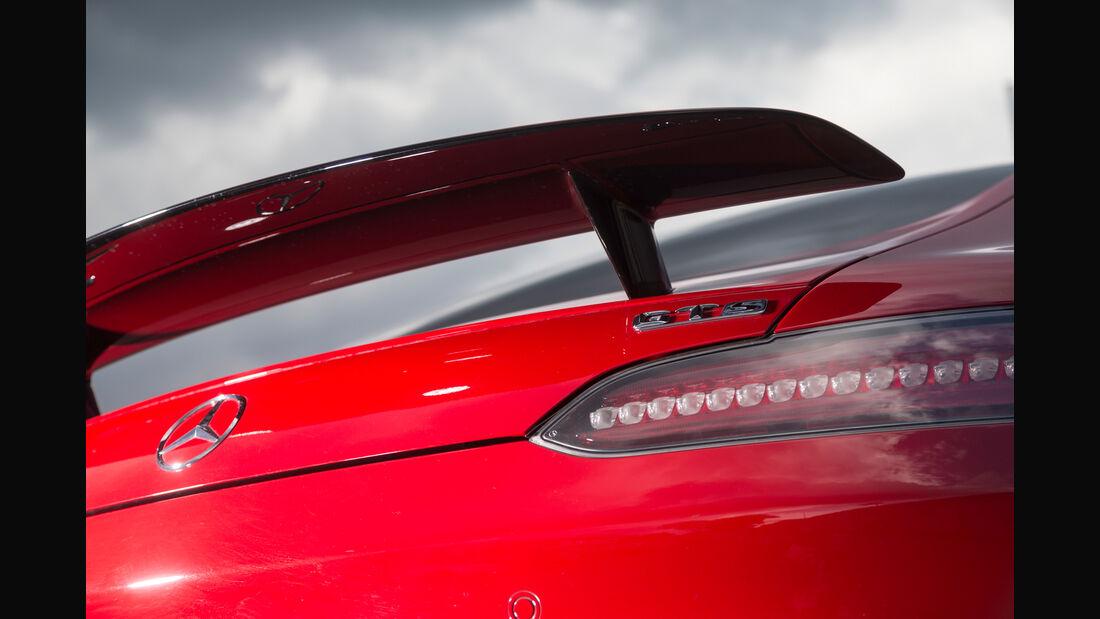 Mercedes-AMG GT S, Heckflügel