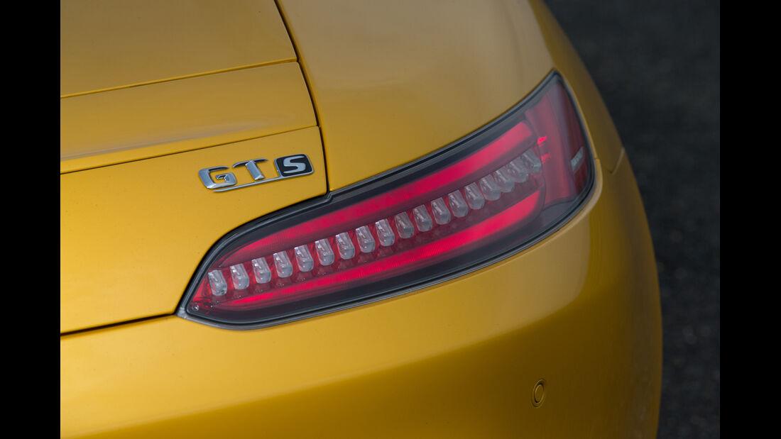 Mercedes-AMG GT S, Heckleuchte