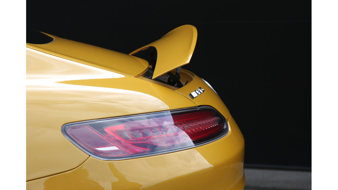 Mercedes-AMG GT S, Heckspoiler