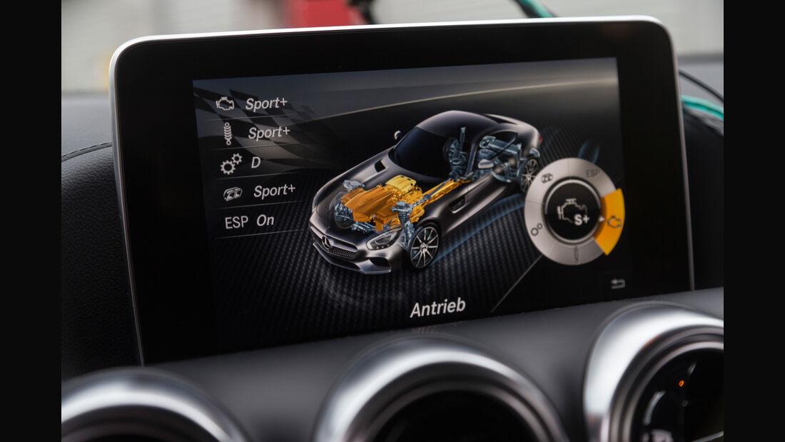 Mercedes-AMG GT S, Infotainment