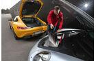 Mercedes-AMG GT S, Porsche 911 Turbo, Kofferraum