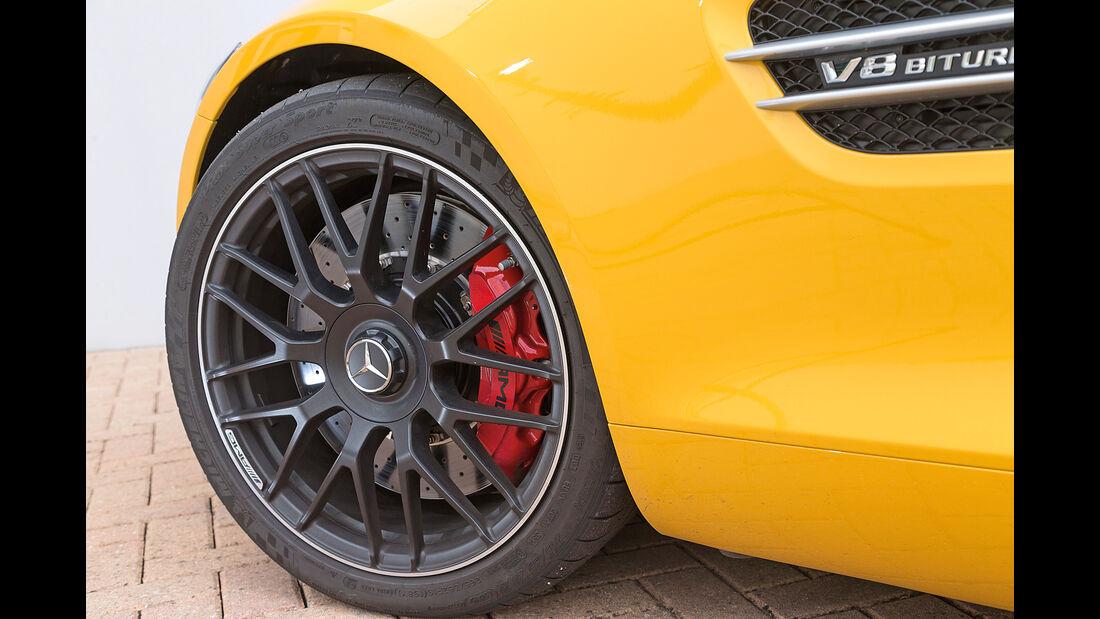 Mercedes AMG GT S, Rad, Felge