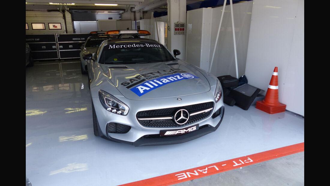 Mercedes AMG GT S - Safety Car - GP Ungarn - Budapest - Donnerstag - 23.7.2015