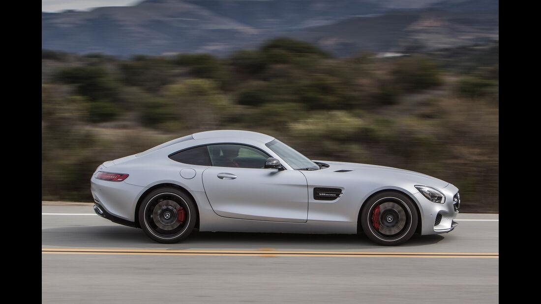 Mercedes AMG GT S, Seitenansicht