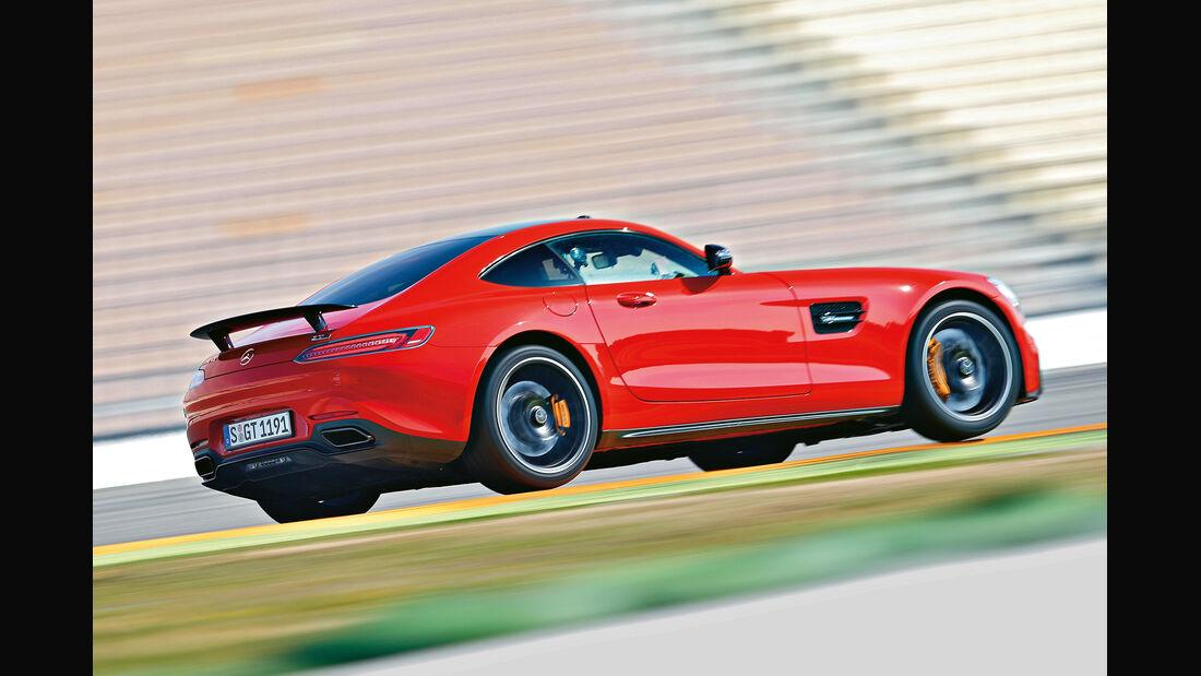 Mercedes-AMG GT S, Seitenansicht