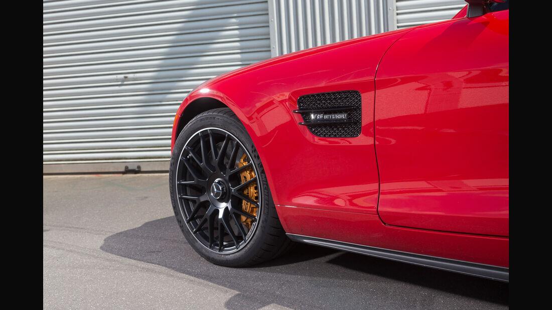 Mercedes-AMG GT S, Seitenführung