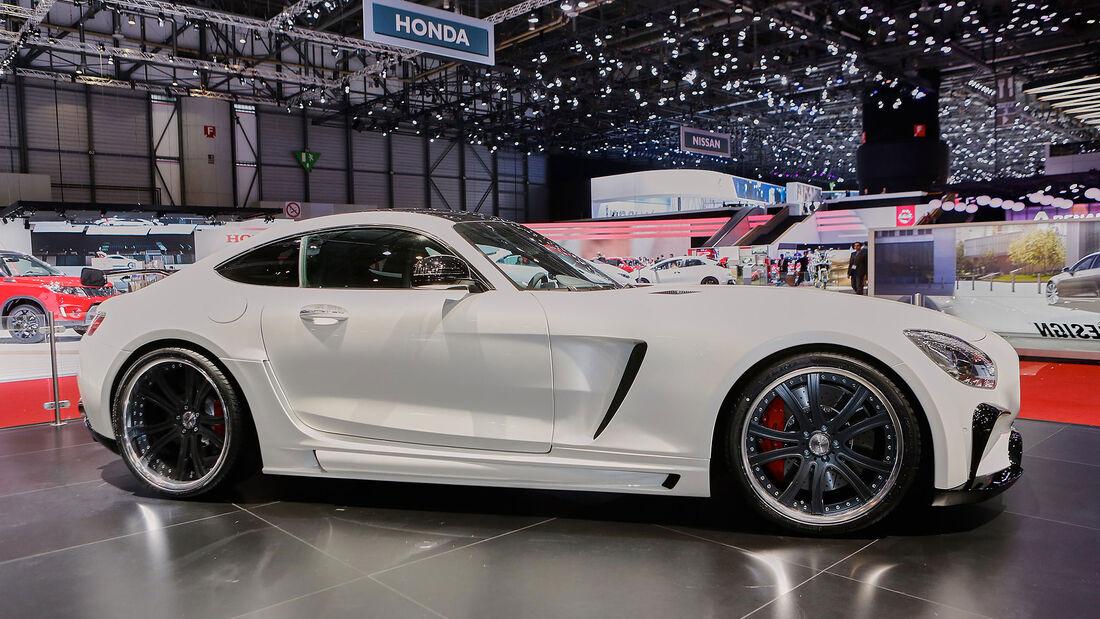 Mercedes AMG GT/S auf dem Genfer Autosalon by FAB Design