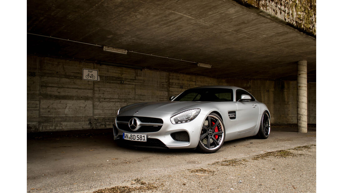 Mercedes AMG GT S by Lorinser