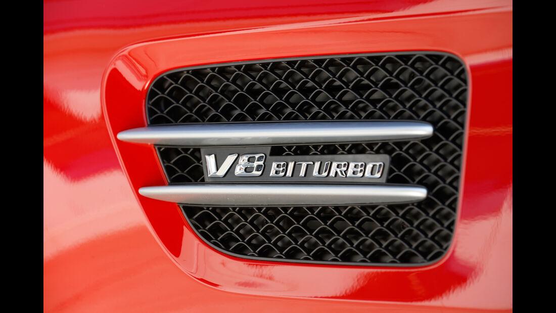Mercedes-AMG GT, Schriftzug, Typenbezeichnung
