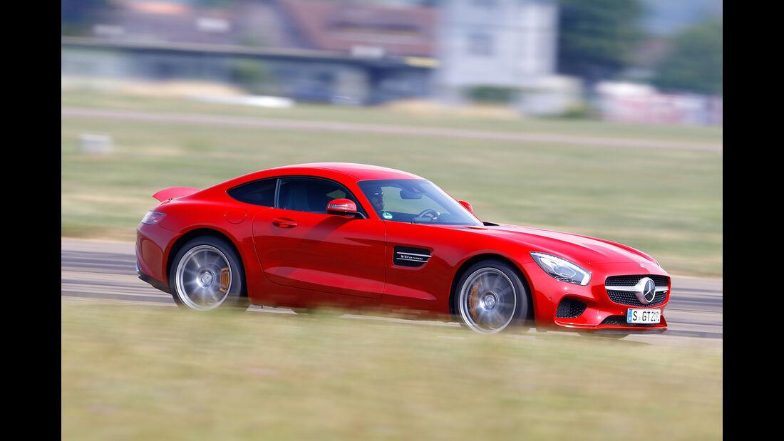 Mercedes-AMG GT, Seitenansicht