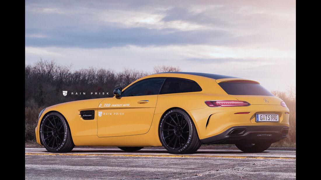 Mercedes-AMG GT Shooting Brake - Design-Konzept - Grafikkünstler Rain Prisk