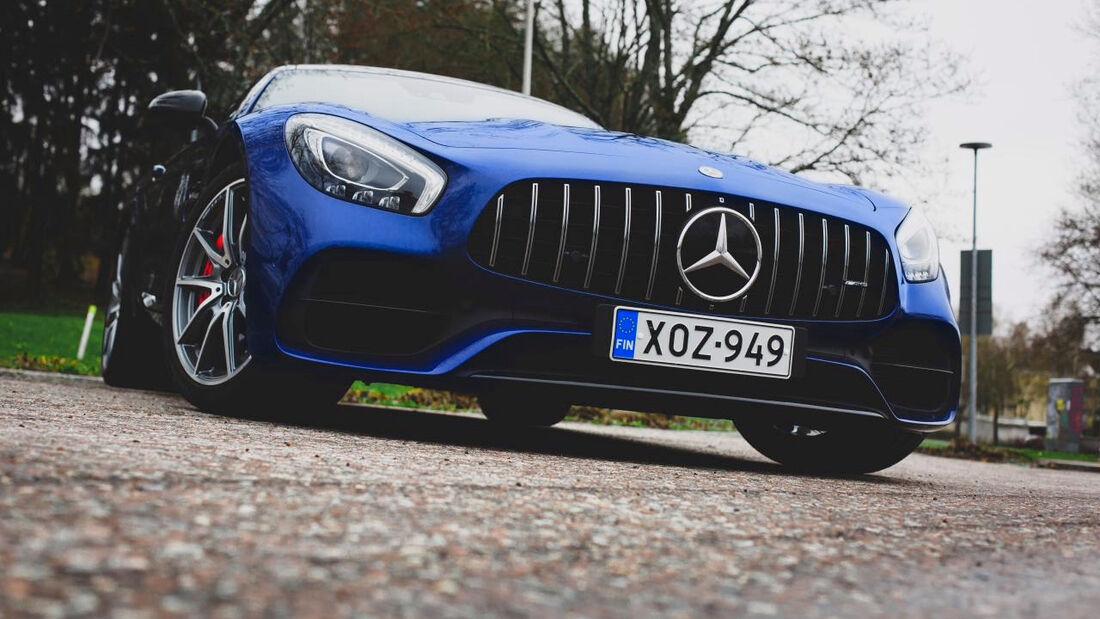 Mercedes AMG GT - Valtteri Bottas - 2021