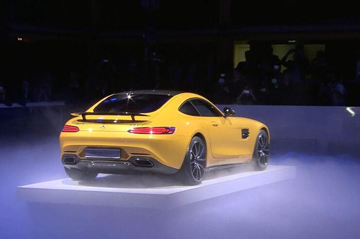 Mercedes AMG GT auf dem Autosalon Paris: Das ist der neue Porsche-Jäger